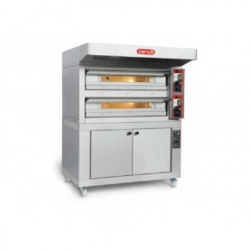 Cuptor pizza pe vatra CITIZEN PW 6+6 L